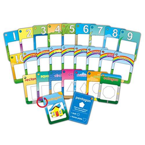 wergem 26 Stücke Infant Alphabete Zahlen Malerei Bord Stift Zeichnung Karte Lernspielz Fingerboards, Mini-BMX & Zubehör