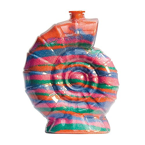 Sandkunstbastelflaschen mit roten Plastikstöpseln, einzigartige Schalenform, ideal für Sandkunstaktivitäten in Schulen oder auf Gemeindeveranstaltungen, Kinderfeiern drinnen oder im Freien. Leere Sandflaschen, die mit farbigem Sand aufgefüllt werden können (5er - Sand-souvenir-flasche