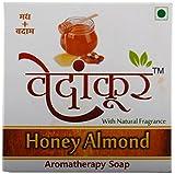 Honey Almond Soap - 6*100 Grams