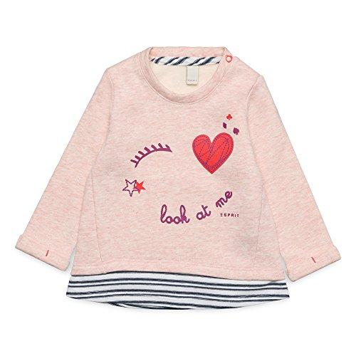 ESPRIT KIDS Baby-Mädchen Sweatshirt RM1500107, Beige (Pearl Rose 309), 86