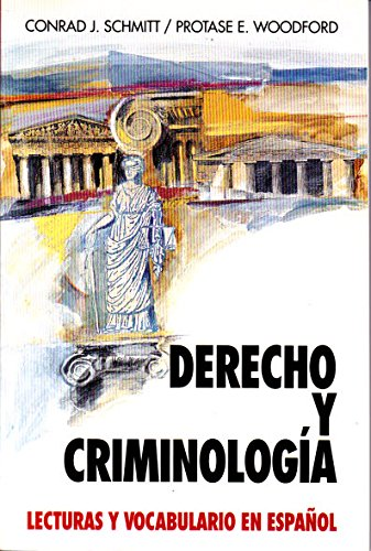 Law and Criminology (Schaum's Foreign Language Series) por Conrad J Schmitt Ph.D.