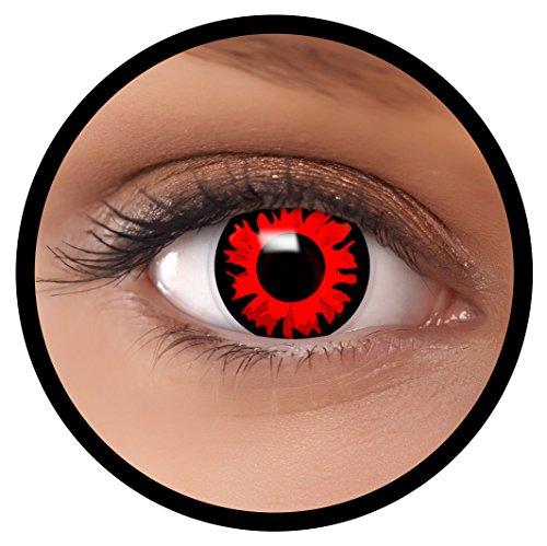 FXEYEZ® Farbige Kontaktlinsen rot