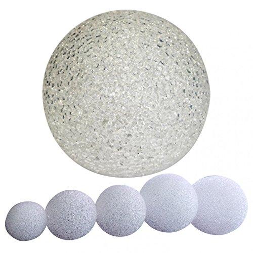 Bombilla led de bola con cambio de color, luz para el estado de ánimo, incluye pilas, Ø 8 cm