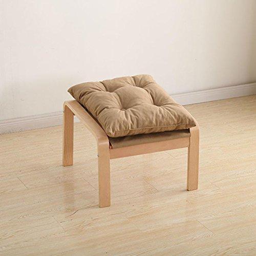 Qingpingguo qpg poggiapiedi sgabelli bassi sgabelli in legno massello moderni lettini minimalisti divani sedie sedie per il tempo libero poggiapiedi poggiapiedi (colore : e)
