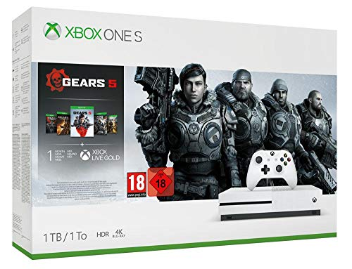 Xbox One S 1To + Gears 5