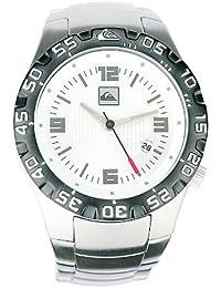 Quiksilver M136JF/ASIL - Reloj de caballero de cuarzo, correa de acero inoxidable color plata
