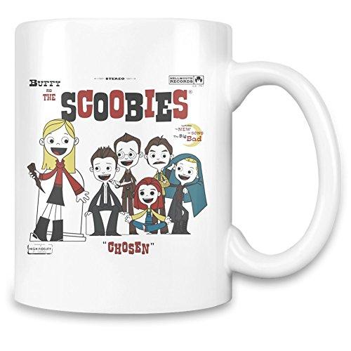 Tasse Tee Fantasy Final (Buffy And The Scoobies Kundenspezifische bedruckte Kaffeetasse – 11 Oz - Qualitäts Keramiktasse)