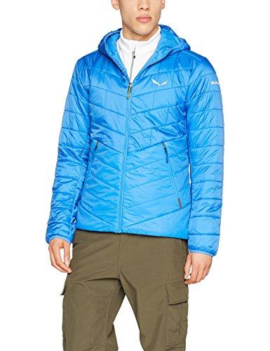 Salewa Herren Fanes Triwool Clt Hooded Jacke royal blue