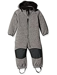 NAME IT Unisex Baby Schneeanzug Nitbeta Softshell Ted Wholesu Grey Mz Fo