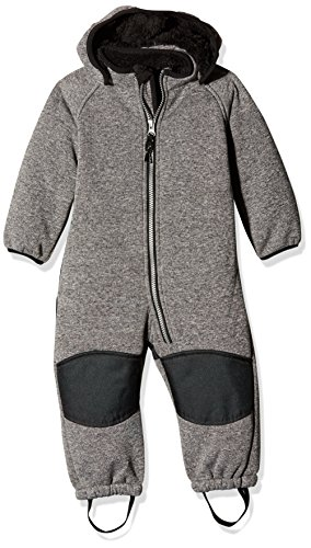 NAME IT Unisex Baby Schneeanzug NITBETA SOFTSHELL TED WHOLESU GREY MZ FO 13138212, Einfarbig, Gr. 86, Grau (Frost Gray)