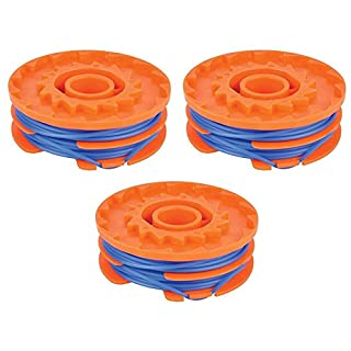 MasterPart 1.5mm 2 x 5m Trimmer Spool & Line For Qualcast Trimmers - 3 Pack
