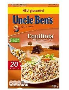 Uncle Ben's® Reis-Spezialitäten Equilinia Multi Körner-Mix, 4er Pack (4 x 500 g Karton)