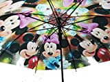 DHINCHAK STORES special one Different of all Material UNISEX mouse print UMBRELLA for kids and all