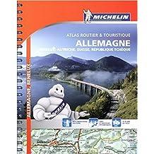 Germany, Benelux, Austria, Switzerland, Czech Republic- Michelin Tourist and Motoring Atlas 2016