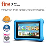 Fire 7 Kids Edition Tablet, 7 Display, 16 GB, Blue Kid-Proof Case (Previous Generation - 7th)