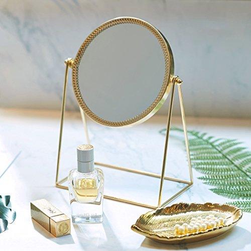 PuTwo Makeup mirror, Beauty kunstvoller dekorativer Kosmetikspiegel , Prinzessin Stil schminkspiegel...