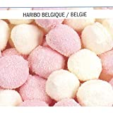 Haribo Chamallows Lards Boules Coco 1 x 1 kg Packung (Schaumzucker-Marshmallows mit Kokosnussraspeln)
