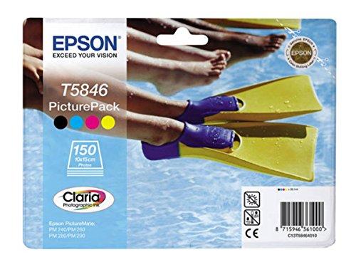 Preisvergleich Produktbild Epson Picturemate 240 (T5846 / C 13 T 58464010) - original - Druckkopf Foto-cyan, Foto-magenta, Foto-gelb - 150 Seiten - 39,1ml