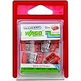 Wago WAG2273/PAN100 Pack de 100 bornes 2273 20 x 2 entrées + 60 x 3 entrées + 20 x 5 entrées