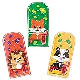 Baker Ross Mini Flipper Amici del Bosco. Ideali per Mini Sorprese per Feste di Bambini (Confezione da 8)