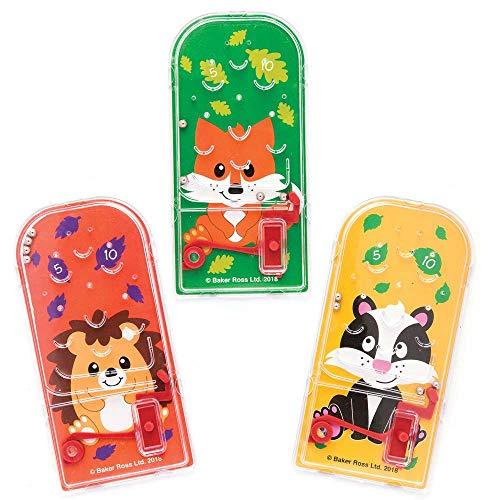 """Baker Ross Mini-Flipper """"Waldfreunde"""" für Kinder – perfekt als kleine Partyüberraschung für Kinder (8 ()"""
