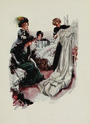 The Poster Corp Harrison Fisher - American Girls in Miniature 1912 Trousseau Kunstdruck (45,72 x 60,96 cm) -
