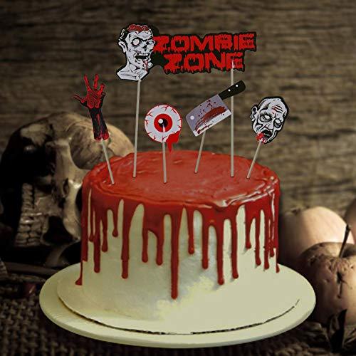 Halloween Dekoration Cupcake Toppers Wrapper Kuchen Dekorationen Kuchendeckel