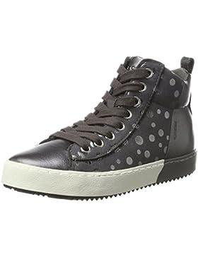 Geox Mädchen J Kalispera Girl B Hohe Sneaker