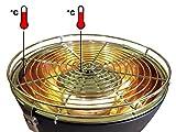 Feuerdesign Tischgrill für Holzkohle Mayon - 4