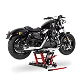 Motorrad Hebebühne ConStands Mid-Lift L schwarz-rot für Harley Davidson Sportster 883/ Custom (XL 883 C)/(XL 883),Sportster 883 Hugger (XLH 883),Sportster 883 Iron/ Low (XL 883 N)/(XL 883 L),Sportster 883 R Roadster (XL 883 R),Sportster 883 Superlow (XL 883 L),Sportster Forty-Eight 48 (XL48),Springer Classic (FLSTSCI),Street Glide (FLHX),Street-Rod (VRSCR),V-Rod/ Muscle (VRSCF)/(VRSCA/W),XR 1200/ X (XR-1200 X)/(XR-1200)