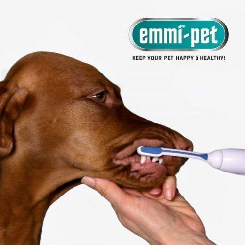 Emmi-Pet Ultraschall-Zahnbürste für Haustiere