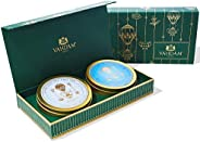 VAHDAM, Sortiertes Tee-Geschenkset - Earl Grey Masala Chai Tee & Chamomile Mint Citrus grüner Tee | 2 Tees
