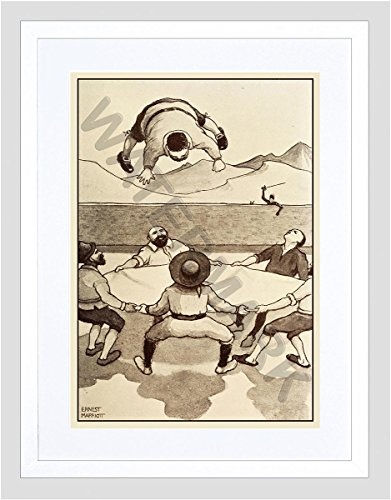 marriott-don-quixote-sancho-in-the-air-small-framed-art-print-f97x13631
