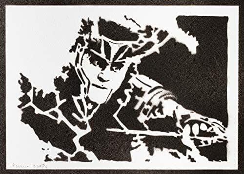 Poster Loki The Avengers Handmade Graffiti Street Art - Artwork