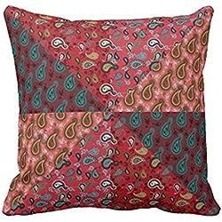 Paisley Patchwork, Boho Style, Hippie Throw pillowcase Pillow shams case Cushion Cover 2424