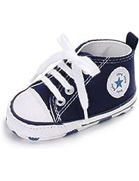 Mixte Chaussures Bébé Chaussures premiers pas Garçons Baskets Filles Sneaker 0-18 Mois
