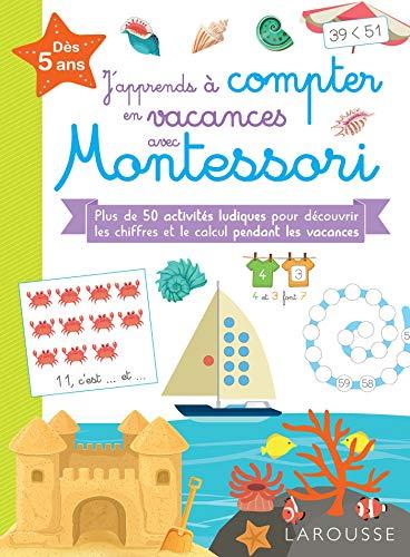 J'apprends à compter en vacances avec Montessori par  Delphine Urvoy