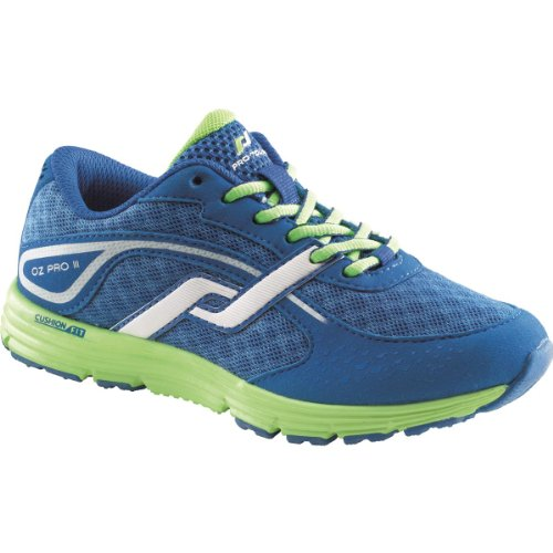 PRO TOUCH Kinder- Laufschuhe OZ Pro III JR, blau/limegrün,39