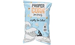 PROPERCORN Lightly Sea Salted Popcorn 20g (Pack of 24)
