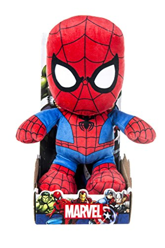 Image of Marvel 31063 10-Inch Spiderman Soft Plush Toy