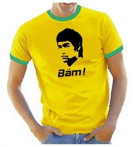 BÄM in your FACE Bruce Lee RINGER gelb Gr.L