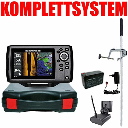 Humminbird Echolot GPS Portabel Master - Helix 5 Chirp GPS SI G2 Side Imaging Side Imaging Sonar