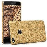 kwmobile Huawei P8 Lite (2017) Hülle - Handyhülle für Huawei P8 Lite (2017) - Handy Case Kork Cover Schutzhülle