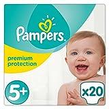 Pampers Premium Protection Größe 5 plus, 13-25kg, 20 Stück