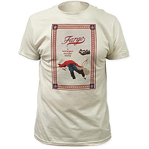 Fargo - - T-shirt histoire équipée Homespun Assassiner hommes, X-Large, Vintage White