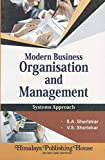Modern Business Organisation And Management