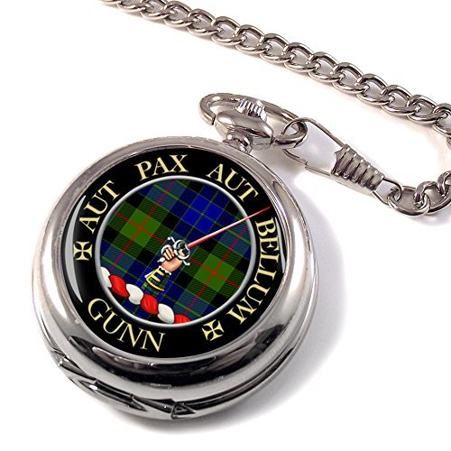 gunn-scottish-clan-crest-pocket-watch