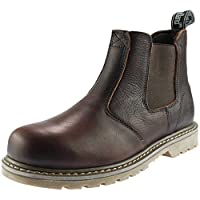 Woodland Chelsea Mens Boots Brown
