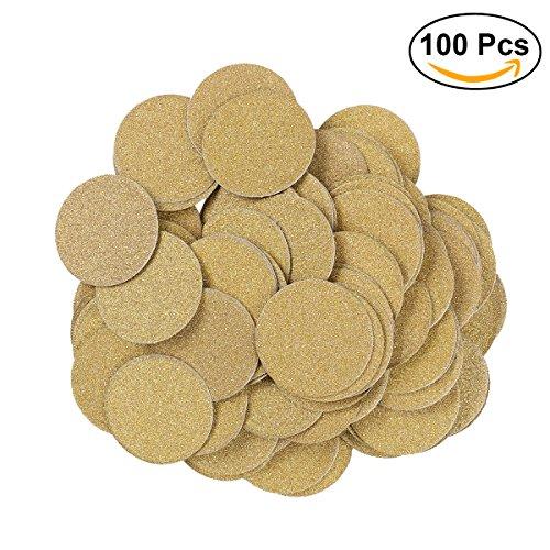 ULTNICE 100pcs Funkeln Confetti DIY doppelseitige Goldpapier Confetti für Party Kuchen Topper Dekoration (Baby-dusche-bevorzugungen Vintage)