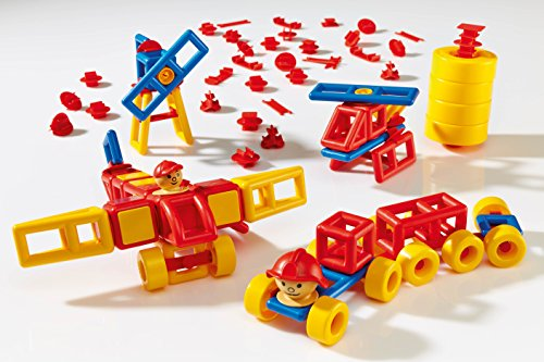Plasticant Mobilo 330–Construction Set 424Pieces II with 12large wheels a... Baukästen & Konstruktionsspielzeug Bau- & Konstruktionsspielzeug-Teile & Zubehör